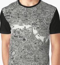 Map of London Graphic T-Shirt