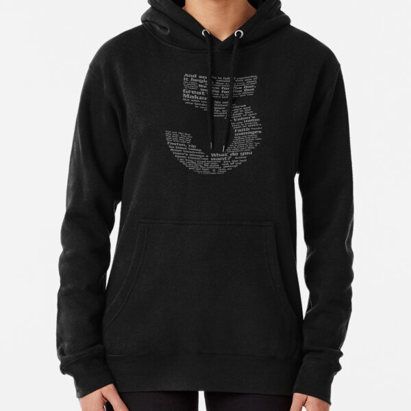 Babylon 5 Quotes - Grey Pullover Hoodie