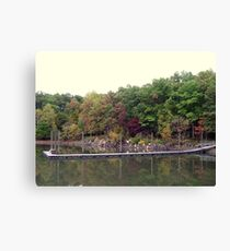 Boating dock Canvas Print