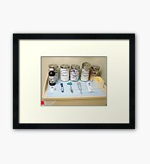 Dr. Exam Framed Print