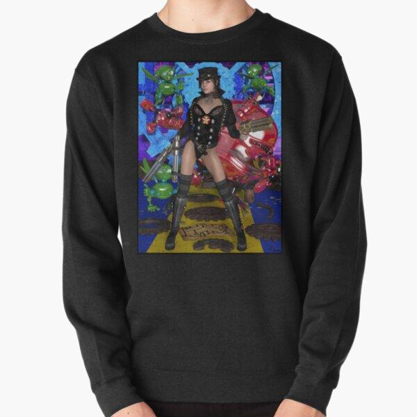 Steampunk Witch Of OZ Pullover Sweatshirt