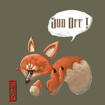 Evil Fox I by StudioColrouphobia