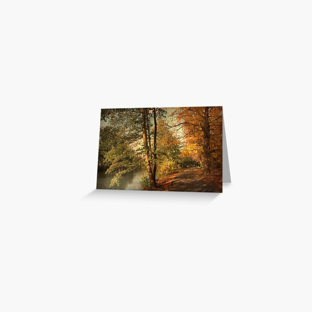 Artful Autumn Tarjetas de felicitación