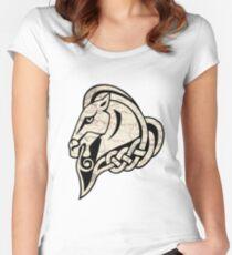 Skyrim: Whiterun Emblem Women's Fitted Scoop T-Shirt