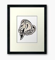 Skyrim: Whiterun Emblem Framed Print