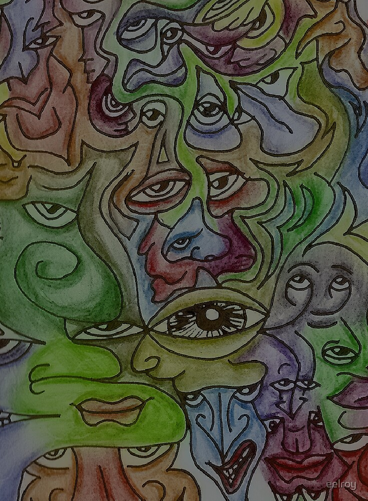 some faces by eelroy