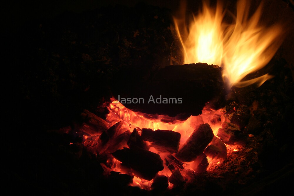 The Camp Fire by Jason Adams