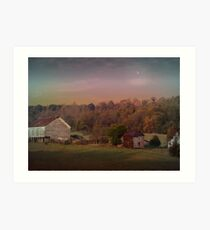Close Of The Day Art Print