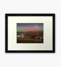 Close Of The Day Framed Print