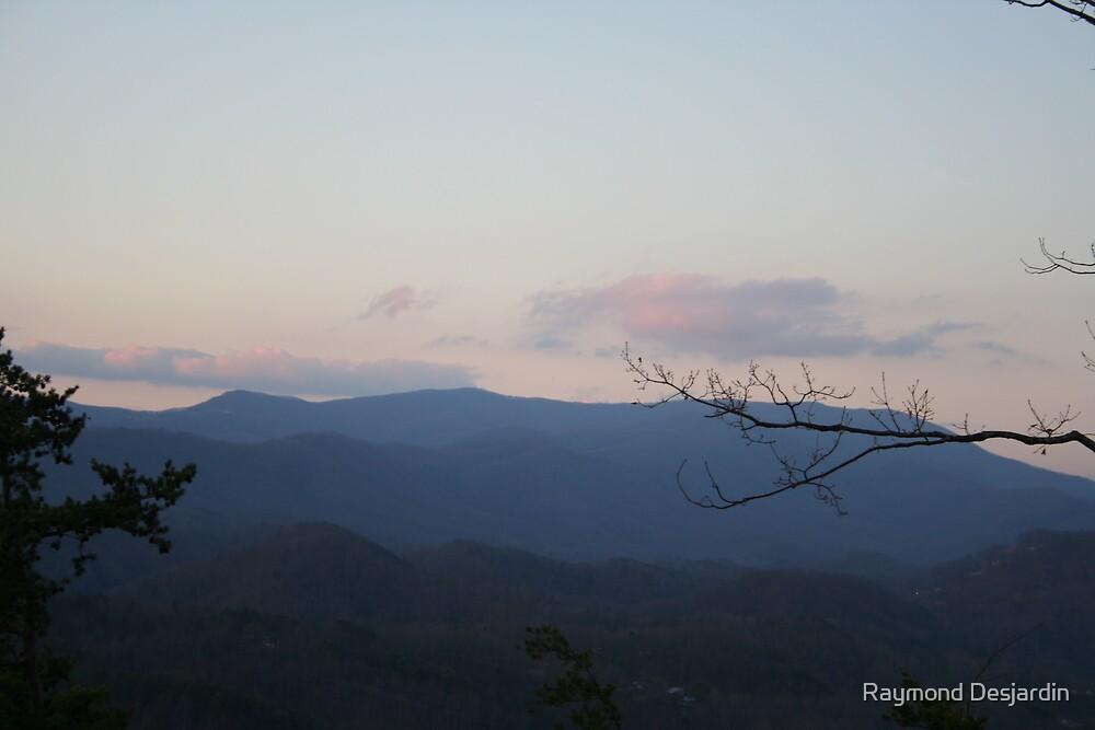 Smoky Mountains 5 by Raymond Desjardin