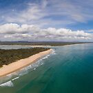 Noosa River Mouth by Sam Frysteen