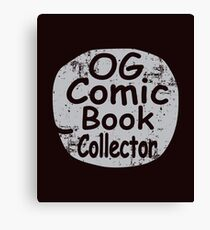 Original Comic Book Collector Retro Vintage Style T-Shirt Canvas Print
