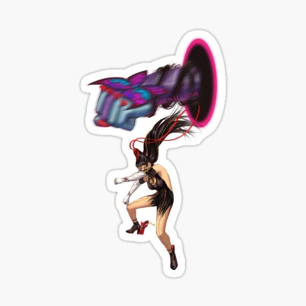 When the Bayonetta OST comes on Sticker