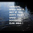 Train hard by Valeria Lee