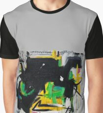 Black and Lime Graphic T-Shirt