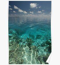 Maldives Seacape 2 Poster