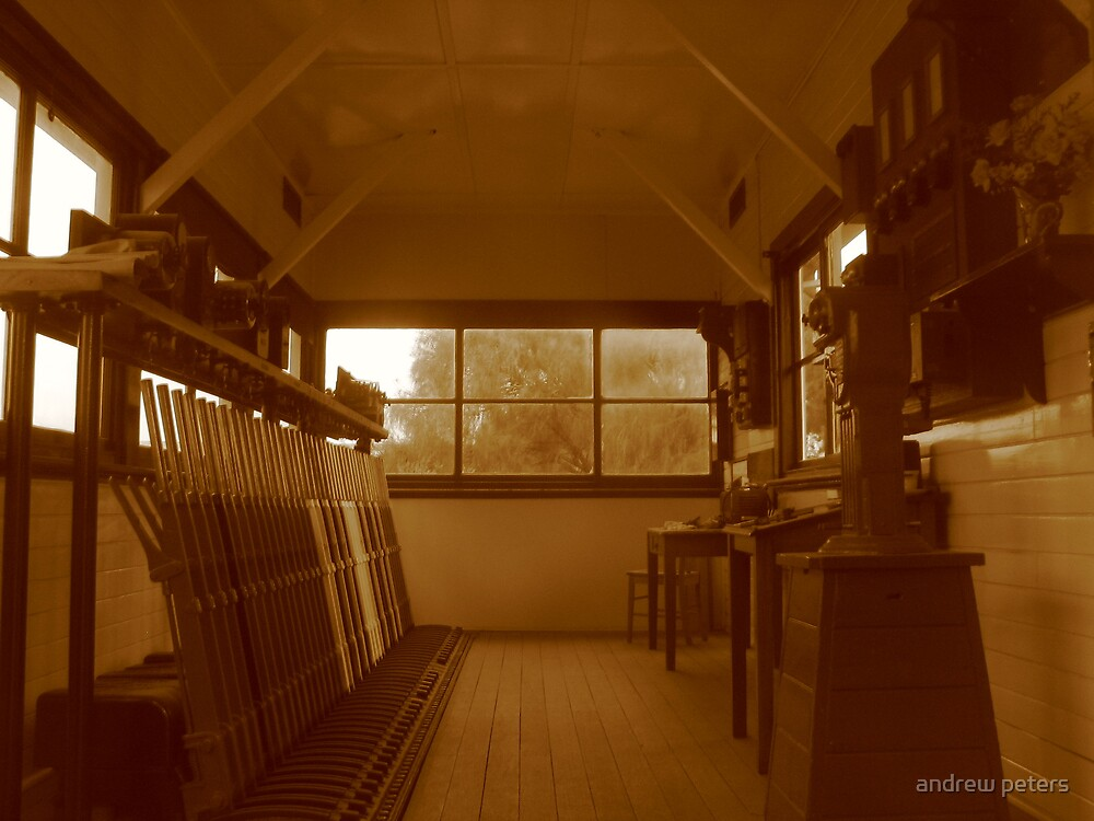 signal cabin by andrew peters