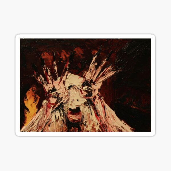 "The Pale Man — Guillermo del Toro's ""Pan's Labyrinth"" Sticker"