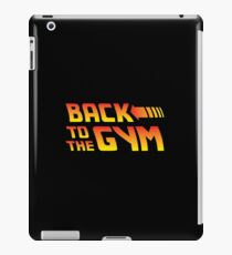 Back To The Gym iPad Case/Skin