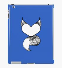 Furry at Heart (Blue) iPad Case/Skin