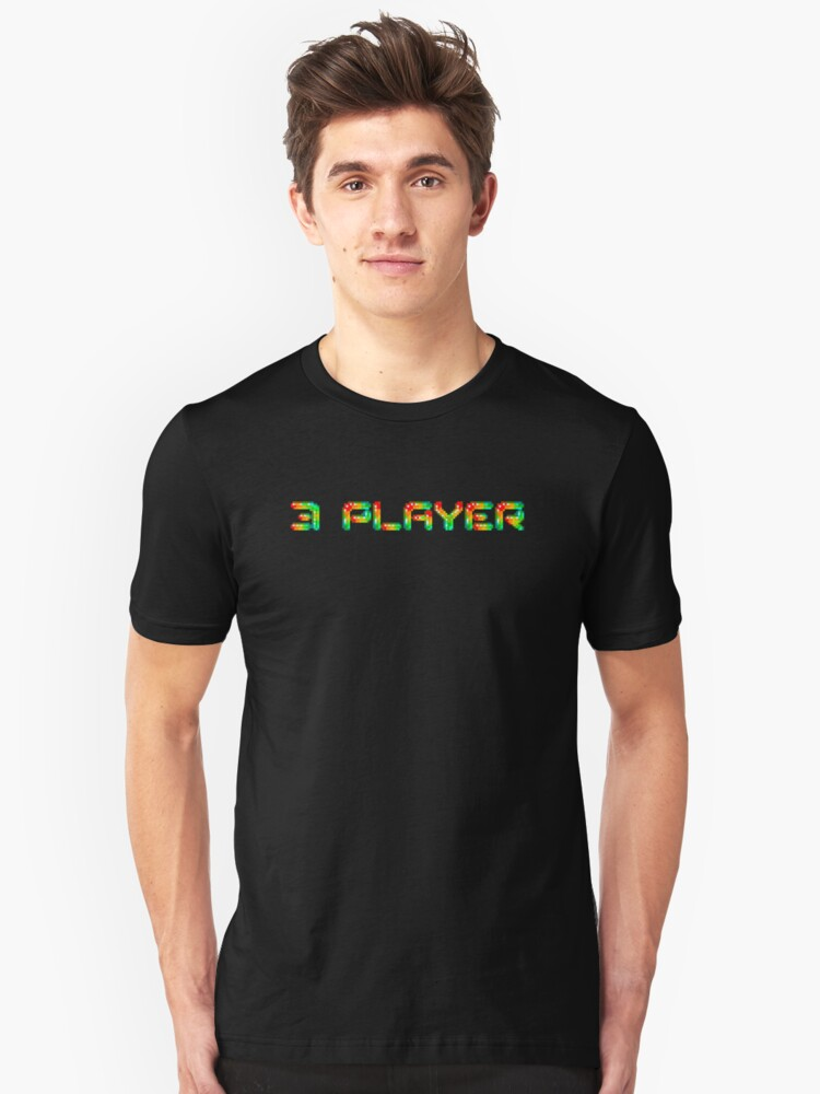 3 player Unisex T-Shirt Front
