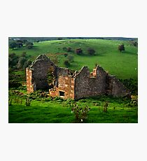 Roofless Cottage Photographic Print