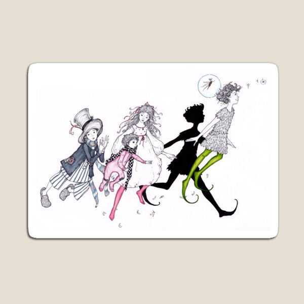 peter pan and company Magnet