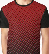 Polka-dot gradient Graphic T-Shirt