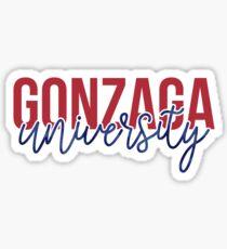 Gonzaga - Style 13 Sticker