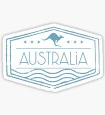 Australien Stempel Sticker