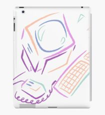 Abstract Computer iPad Case/Skin