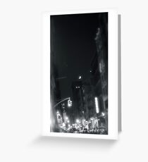 Moonlit NY Greeting Card
