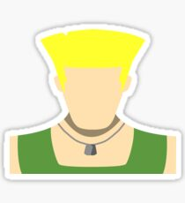 Guile Vector Sticker