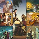 Old Testament Biblical Collage by Kathryn Jones