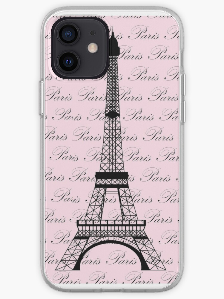 Pink Eiffel Tower iPhone Case Multiple Case Sizes Available Paris iPhone Case French iPhone Cover