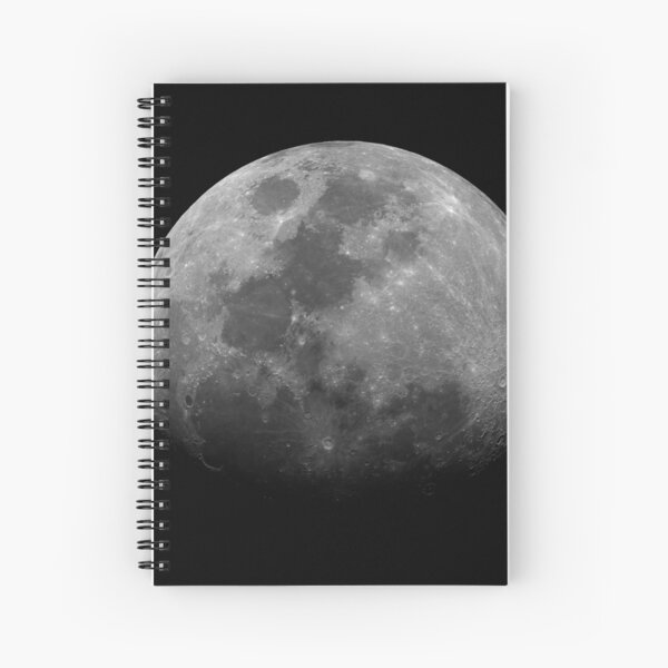 Moon 3/8/17 Spiral Notebook