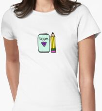 Creative Soda Women's Fitted T-Shirt