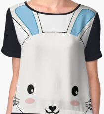 Easter Day,Easter Bunny Chiffon Top