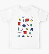 Memphis Style Pattern Design Kids Clothes