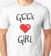 Geek Girl Unisex T-Shirt