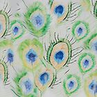 Peacock feathers by lizdomett