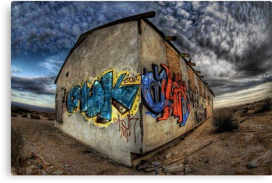Desert Graffiti by Jake Easley