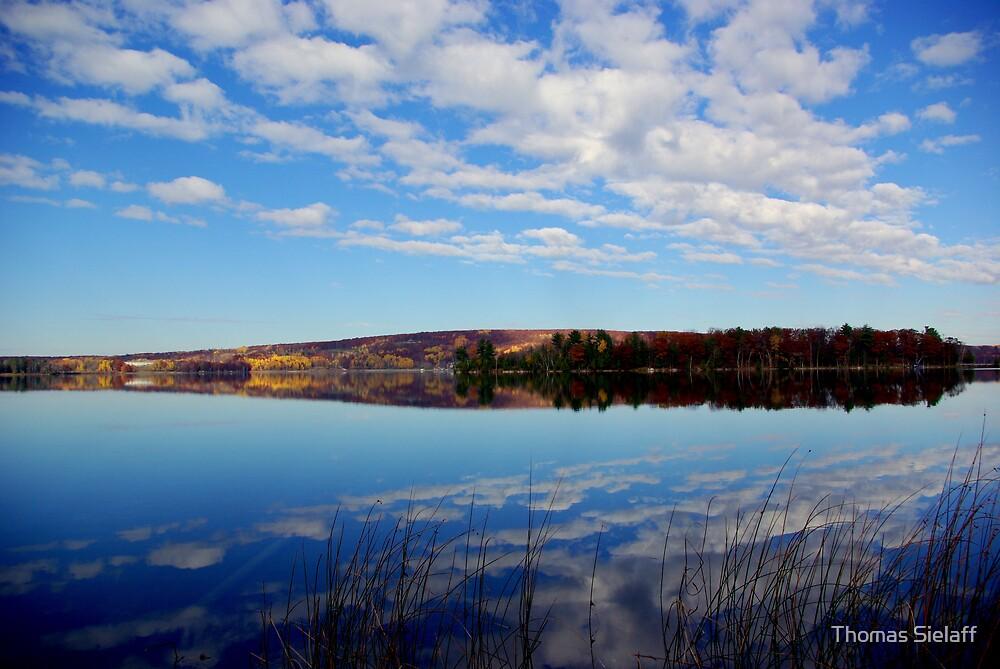 Lake of Clouds by Thomas Sielaff