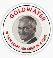 Barry Goldwater 1964 Sticker