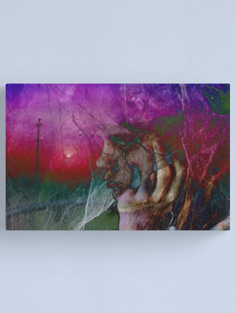 Alternate view of Love me in sunrise Canvas Print