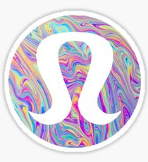 LuluLemon Sticker