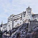Salzburg Castle by amgunnphotoart