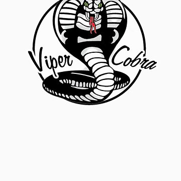 Viper Cobra in: Black & White & Red All Over by boltage69