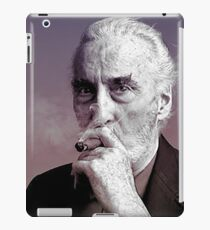 christopher lee iPad Case/Skin