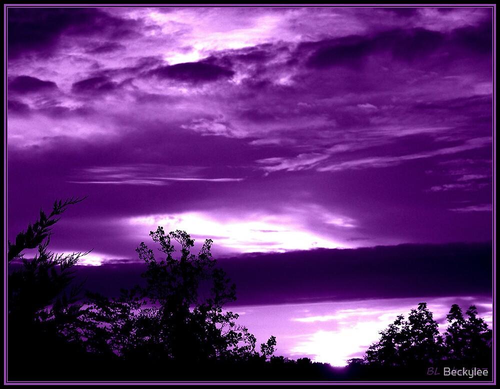 A Purple Sunrise by Beckylee